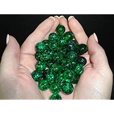 Uranium Emerald Crackle Marbles 6 Pack: Industrial & Scientific