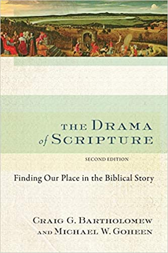 Amazon com: The Drama of Scripture: Finding Our Place in the