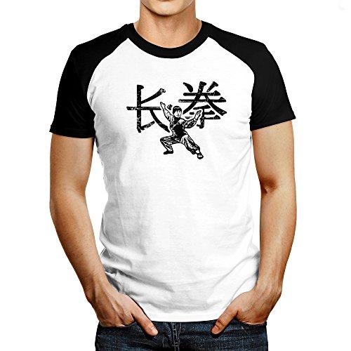 Idakoos - Wushu changquan chinese character - Sports - Raglan T-Shirt