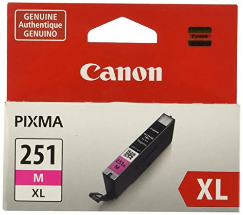 (Canon CLI-251XL Magenta Ink Tank Compatible to MG6320 , IP7220 & MG5420, MX922, MG5520, MG6420, MG7120, iX6820, iP8720, MG7520, MG6620, MG5620)