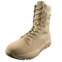 FREE SOLDIER Mens Outdoor Ultralight Breathable Military Desert Boots Tactical Duty Work Boot