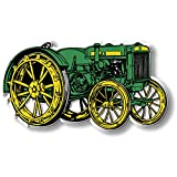 Set of Four Green & Yellow Tractor Magnets