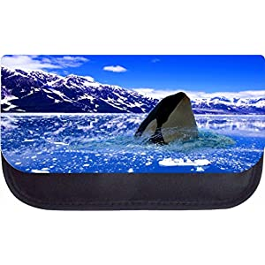 Polar Orca Killer Whale Rosie Parker Inc. TM PreSchool Childrens Backpack, Insulated Lunch Bag and Pencil Case Set