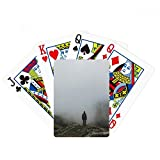 Fog Clouds Mountain Nature Travel Poker Playing Cards Tabletop Game Gift