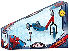 Darpèje-OSPI110 Patinete juegos, color spiderman, única (OSPI110)