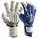 Rinat Guantes de Portero Asimetrik Hunter Pro - Golero Sport (Blue, 7)