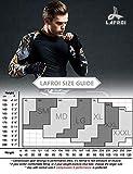 LAFROI Men's Long Sleeve UPF 50+ Baselayer Skins
