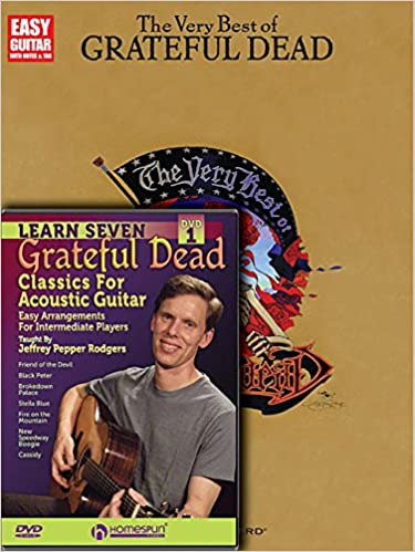 Amazon.com: Grateful Dead Pack (Easy Guitar With Notes & Tab ...