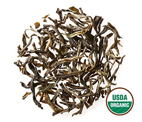 - Golden Moon Organic Jasmine (96 Servings) Loose Leaf Tea