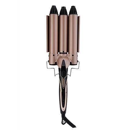 WORLD Rizador de Pelo Wand 34mm Curling Iron Rizadores para el Cabello Largo Rizos Grandes Rizadores