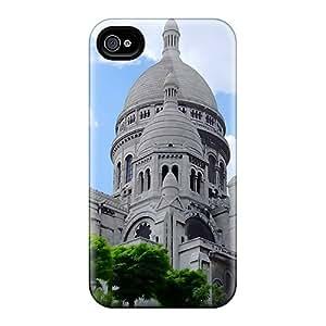 Pretty AZIoZpr627UTrjY Iphone 4/4s Case Cover/ Sacre Coeur Parisfrance Series High Quality Case