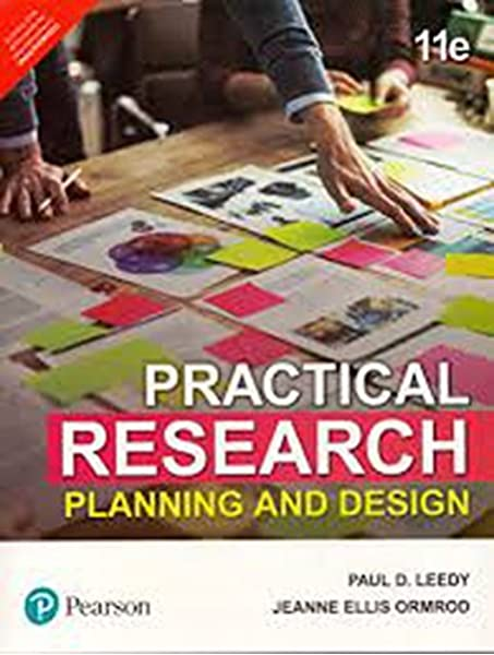 Practical Research Planning And Design 11th Edition Pearson India Pearson India Pearson India 9789352861941 Amazon Com Books