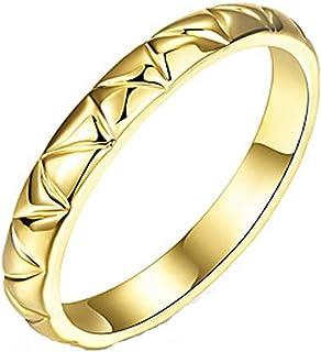 Anelli Fascia donna anelli gioielli moda leghe di stagno / placcato oro dorato 1pc