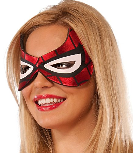 Woman Spider Girl Costume (Rubie's Costume Co Women's Marvel Universe Spider-Girl Eyemask, Multi, One Size)
