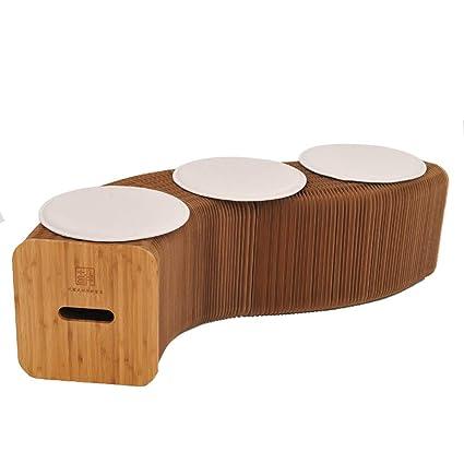 TX Diseño Moderno Taburete de Papel Plegable Sofá Silla ...
