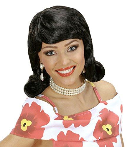 50s Flip S - Black Wig For Hair Accessory Fancy Dress]()