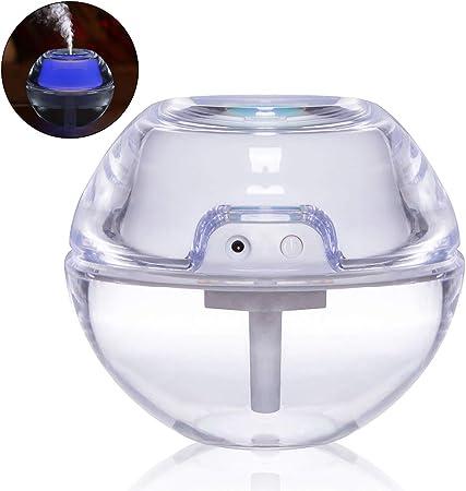 Bweele Humidificador de Aire con lámparas de Cristal con ...