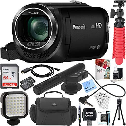 Panasonic HC-W580K Full HD Camcorder with Mini Zoom Micropho