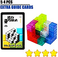 OWSEN Dress Up /& Learn 3D Magnetic Puzzle Set
