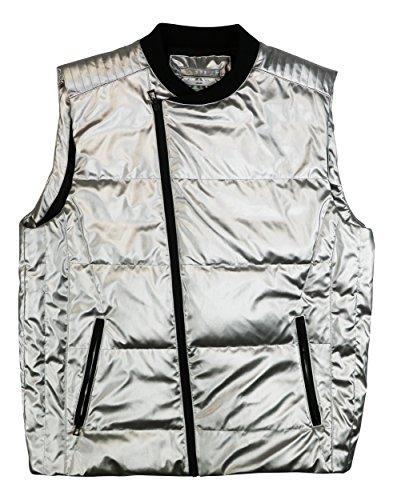 Metallic Puffer Vest - 5