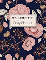 This hourly appointment book is perfect for anyone who needs to track their schedule throughout the day. Businesses and individuals will benefit from this simplistic & reliable layout.Just click the look inside to check out the interior l...