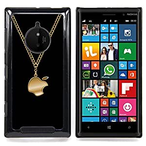 Funny Bling Apple Jewellery Caja protectora de pl??stico duro Dise?¡Àado King Case For Nokia Lumia 830