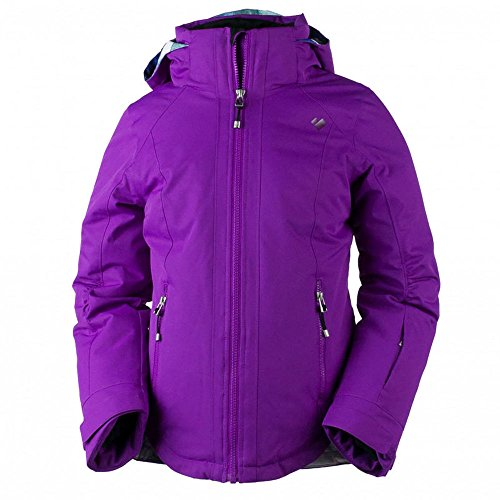 Obermeyer Kids Girl's Kenzie Jacket (Little Kids/Big Kids) Violet Vibe Medium by Obermeyer Kids