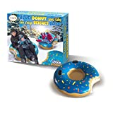 Giant Blue Donut Inflatable Ride-on Snow Tube - 120 cm (4 feet)