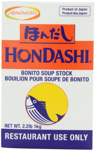 - Ajinomoto Hondashi Soup Base, 2.2-Pound Units