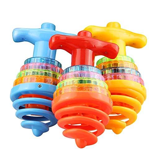 Catkoo LED Glowing Bounce Kreisel Kreisel Mit Musik Kids Toy Party Supplies, Perfekte Ausbildung Kinder Intelligenz…
