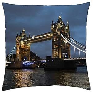 Puente de la torre de Londres–Funda de almohada manta (16