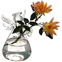 Oneoftheworld 1pc Vase Flower Plan Home Decoration Supplies Dining Accessories (TypeV5)