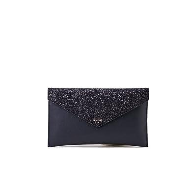 c852038b1a GUESS Ever After Envelope Embrayage Black: Amazon.fr: Chaussures et Sacs