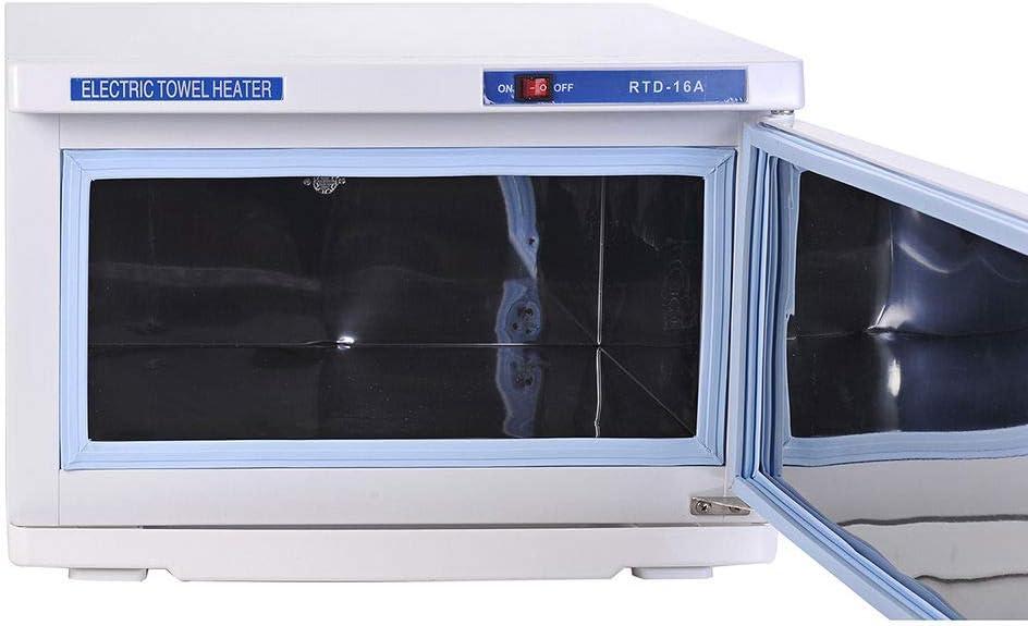 St/érilisateur pour salon de coiffure Haute capacit/é 16 l Chauffe-serviettes UV