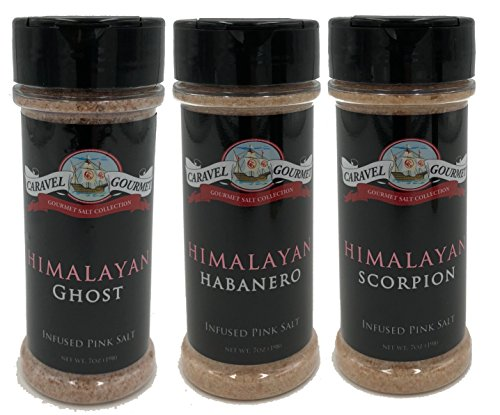 Himalayan Ghost, Habanero & Scorpion Pepper - 3 Pack by Caravel Gourmet