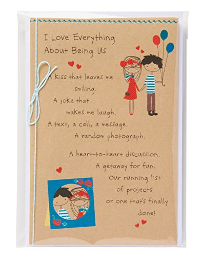 American Greetings Being Us Birthday Card for Sweetheart with Foil Photo #4