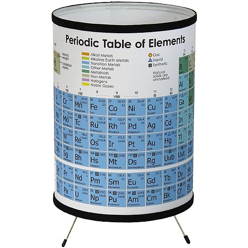 Tripod Periodic Table of Elements Lamp