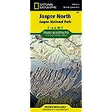Jasper North [Jasper National Park] (National Geographic Trails Illustrated Map)