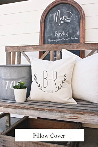 Custom Pillow Covers, Designer Pillow Cover, Quote Pillowcase, Throw Pillowcase, Custom Phrase, Decorative Pillows, 16x16