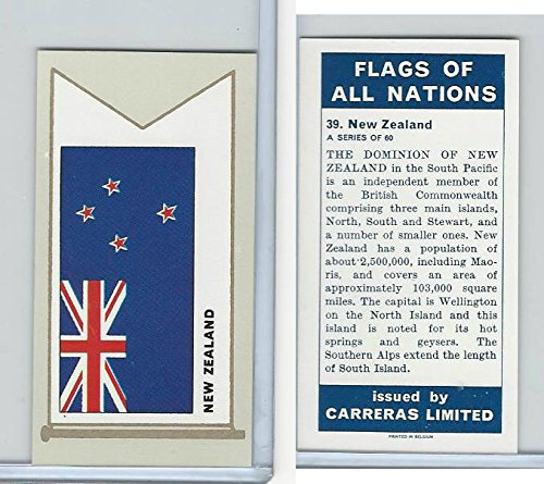 C18-0 Carreras, Flags All Nations, 1960, 39 New ()