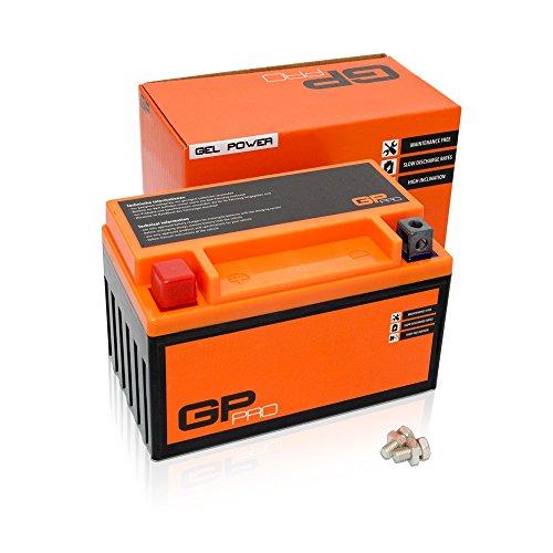 Batterie 12V 7Ah Gel GP-Pro (Typ - GTX7A-BS/ähnlich YTX7A-BS) (versiegelt/wartungsfrei)