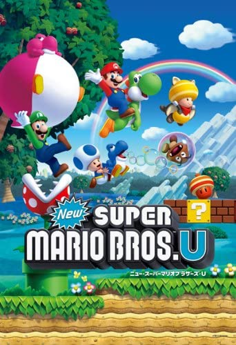 New Super Mario Bros. U 108 Large Piece New Super Mario Bros. U (1) 108-L373 (japan import): Amazon.es: Juguetes y juegos