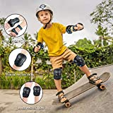 6 Pack Kids & Adults Skateboard Ice Roller Skating