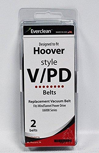 Windtunnel V 2 Vacuum (Generic Hoover V and Windtunnel Vacuum Belts 2 Pack)