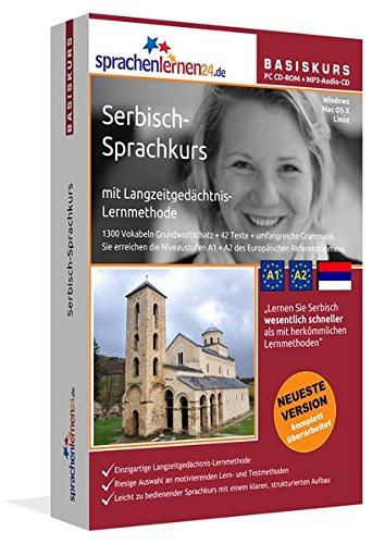 Sprachenlernen24.de Serbisch-Basis-Sprachkurs: PC CD-ROM für Windows/Linux/Mac OS X + MP3-Audio-CD für MP3-Player. Serbisch lernen für Anfänger