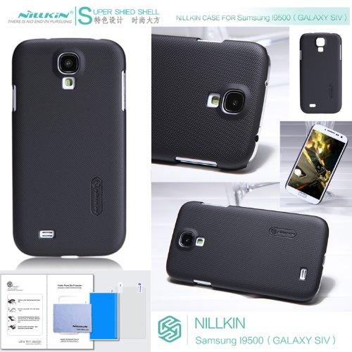 Nillkin Matte Hard Cover Case + Lcd Guard for Samsung Galaxy S4 SIV i9500