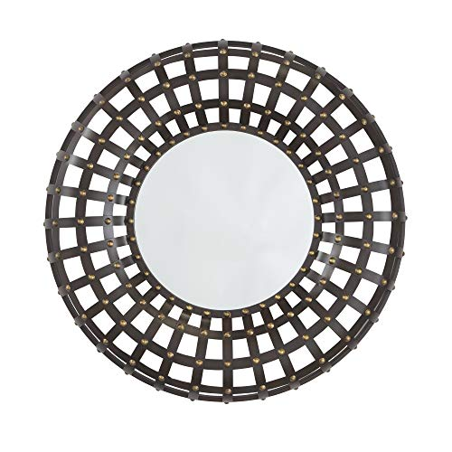 Signature Design by Ashley A8010017 Metal Mirror, Ogier -