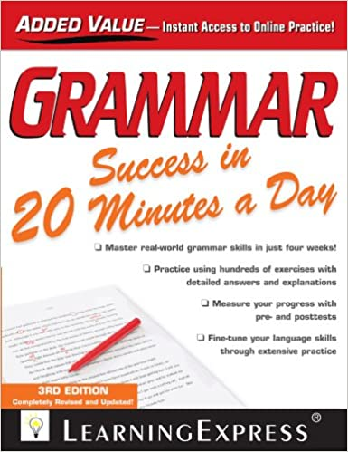 Grammar Success in 20 Minutes a Day - Kindle edition by ...