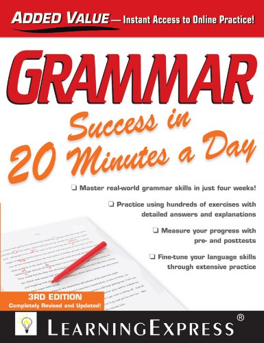 Grammar Success in 20 Minutes a Day (3rd 2013) [LearningExpress]