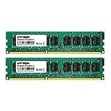 8GB Dual Channel KIT (2x 4GB) für Fujitsu-Siemens PRIMERGY TX120 S3 (D3049) DDR3 1600MHz PC3-12800E ECC UDIMM RAM Speicher Memory